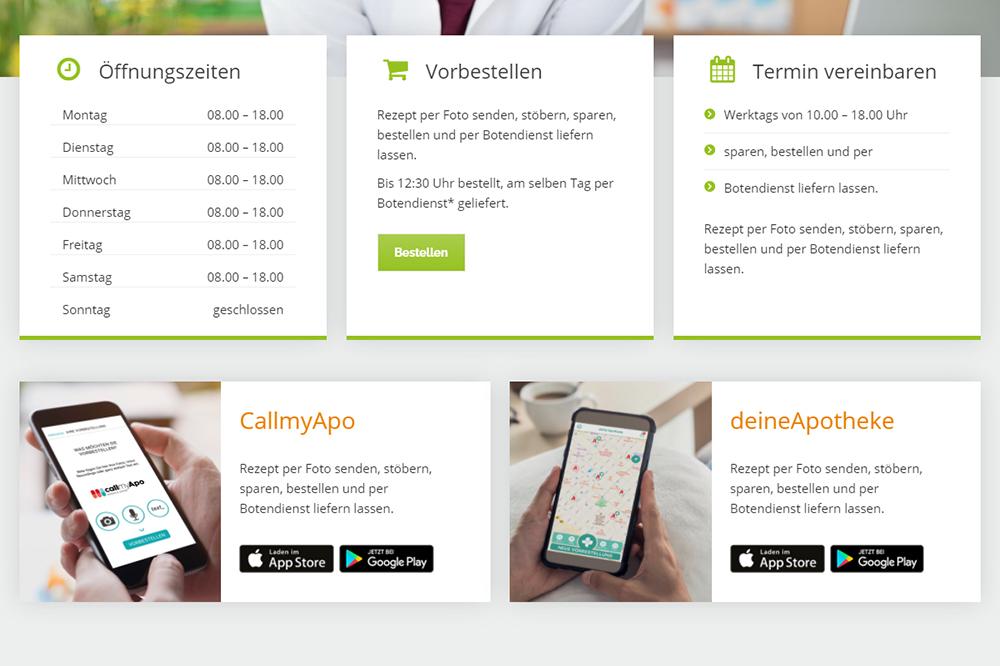 Website Features Apps